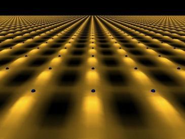 El estudio emplea circuitos superconductores para reproducir la interacción entre materia y radiación. Imagen: crazyengineers.