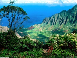 Las aguas subterráneas acabarán por disolver el relieve de Oahu, dejando a la isla tan baja y llana como en Midway. (Foto: Cortesía de Steve Nelson)
