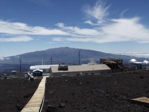 El observatorio del Mauna Loa, de la NOAA, en Hawái. (Foto: NOAA)