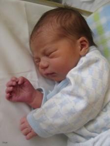 Un bebé duerme en su cuna. (Foto: DICYT)