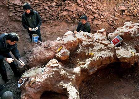 Este descubrimiento fue hecho el provincia China de Gansu, en la depresion de Basin.