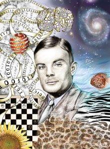Turing fue el primero en ofrecer una explicación química de la morfogénesis. Él teorizó que las células biológicas idénticas se diferencian y cambian de forma a través de un proceso llamado reacción-difusión intercelular.
