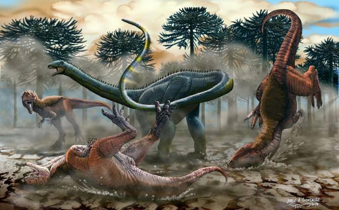Leinkupal laticauda se defiende de depredadores. (Ilustración: Jorge Antonio González)